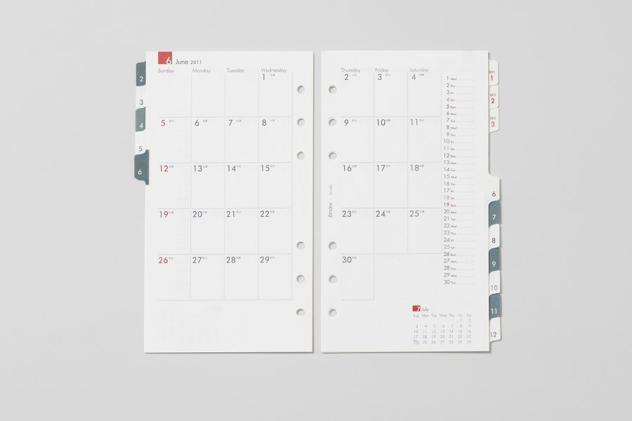 Bindex Calendar 2012