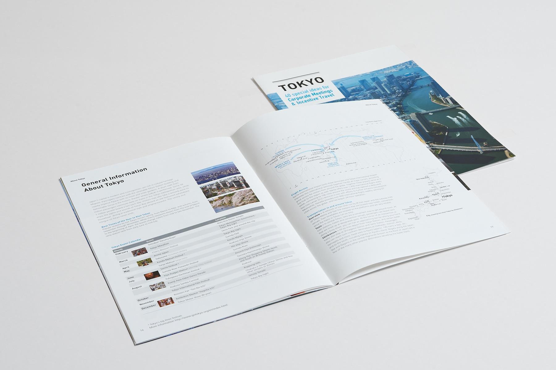 Tokyo Travel Booklet
