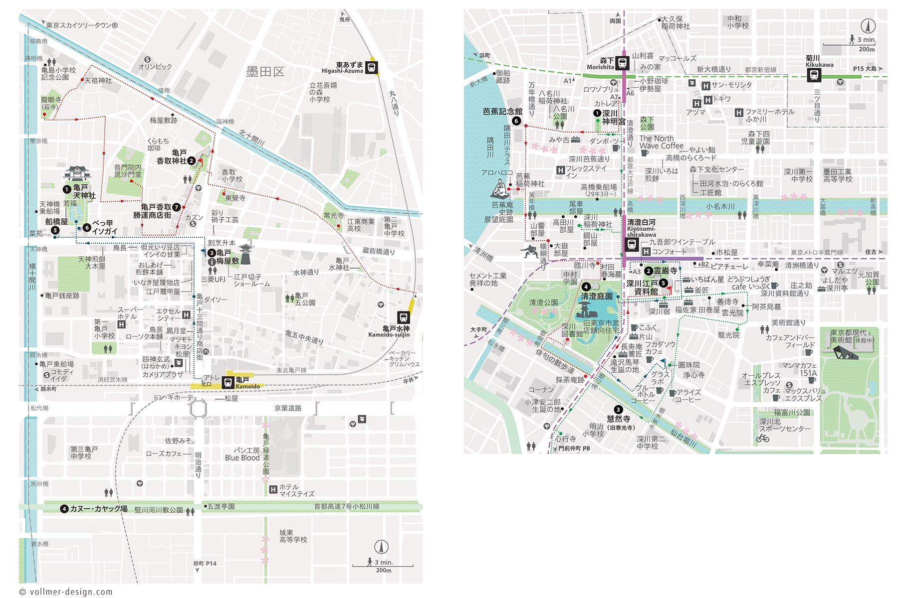 Tokyo Koto-Ku Map